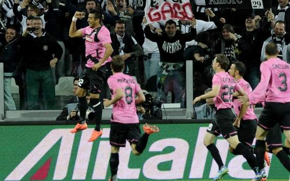 Juventus celebrating (Serie A, Getty Images)