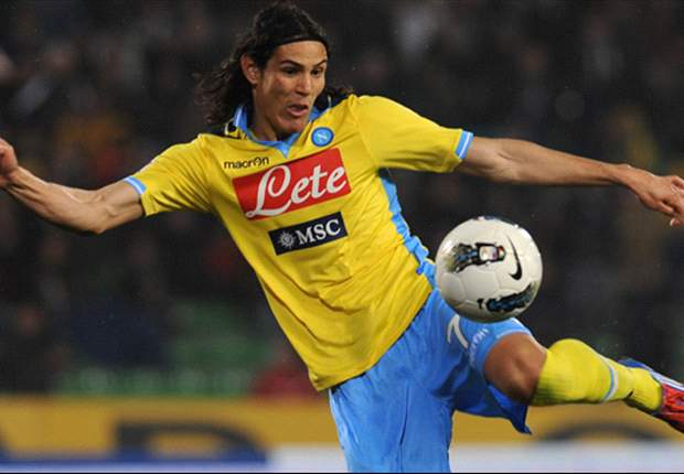 Cavani: I feel good at Napoli