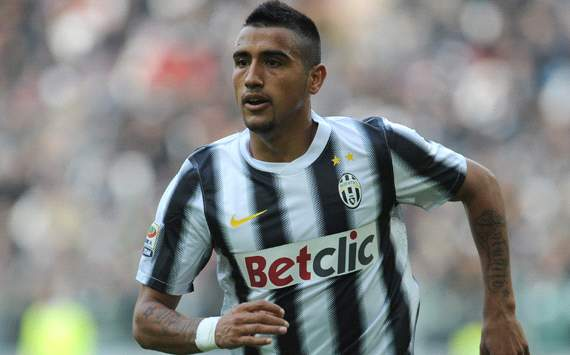 Vidal 'proud' of Real Madrid interest but insists he is happy at Juventus