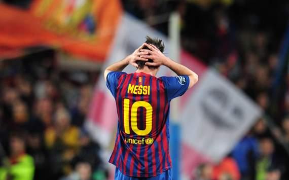 CL - FC Barcelona v FC Chelsea, Lionel Messi