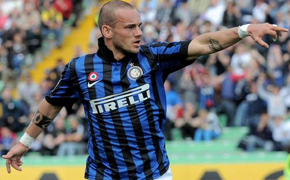 Moratti admits Inter run the risk of losing Sneijder to Anzhi