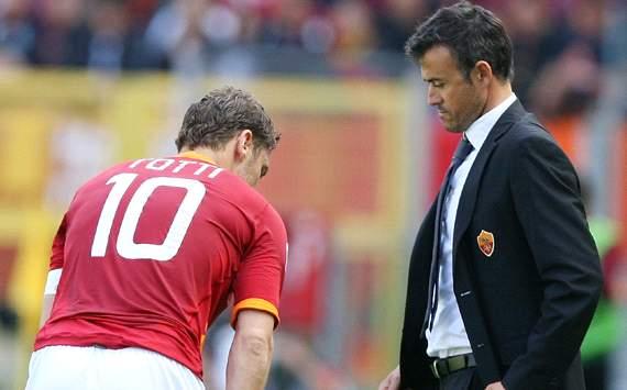 Totti & Luis Enrique - Roma