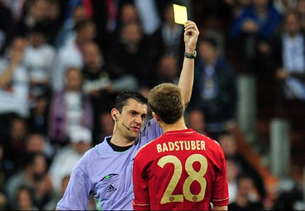 Badstuber criticises referee for yellow card against Real Madrid