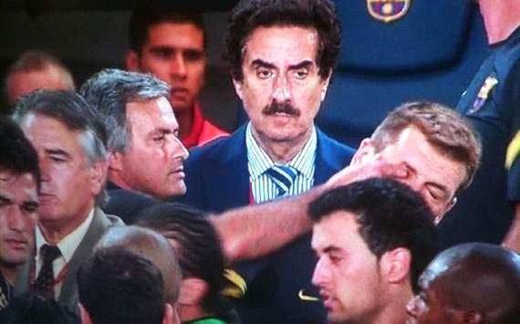 Vilanova: I don't have a bad relationship with Mourinho