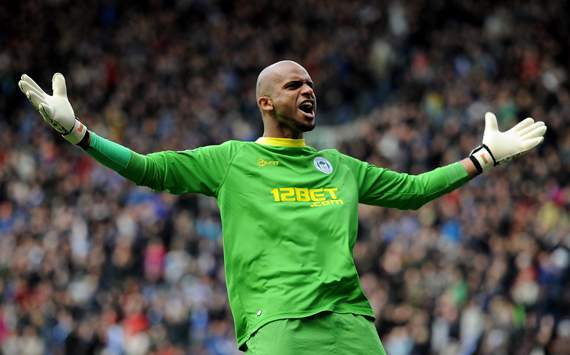 EPL - Wigan Athletic v Newcastle United, Ali Al Habsi