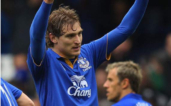 EPL,Nikica Jelavic,Everton v Fulham