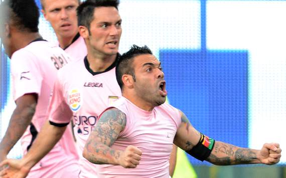 Cagliari en Palermo spelen gelijk