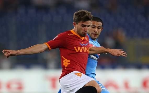 Fabio Borini (R), Walter Gargano (N) - Roma-Napoli - Serie A (Getty Images)