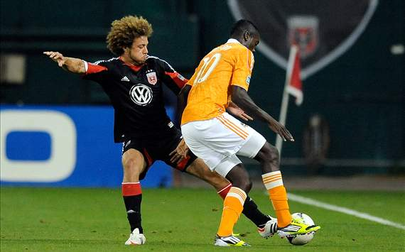 Nick DeLeon, D.C. United; Je-Vaughn Watson, Houston Dynamo; MLS