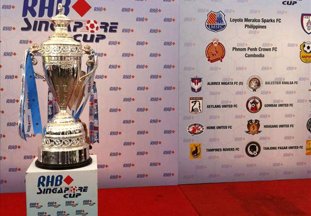 RHB Singapore Cup 2012 returns with teams from 8 nations