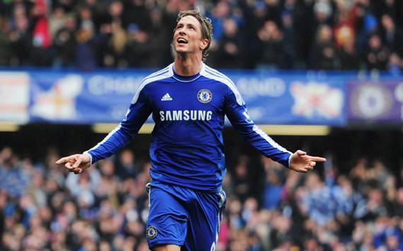 EPL - Chelsea vs QPR, Fernando Torres