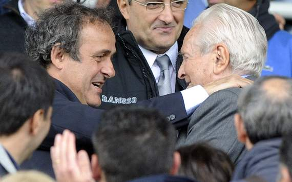 Platini looking forward to Juventus' return to the Champions League