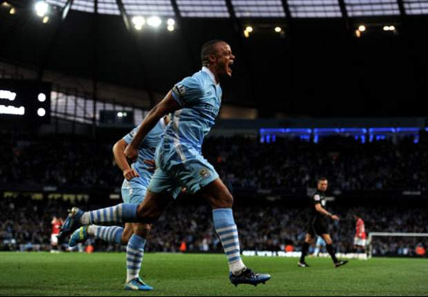 In Pictures: How Manchester City beat United in derby to move top of the Premier League