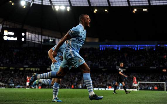 EPL,Vincent Kompany,Manchester City v Manchester United