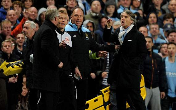 Roberto Mancini,Sir Alex Ferguson