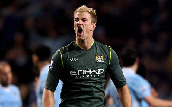 EPL - Manchester City vs Manchester United,Joe Hart