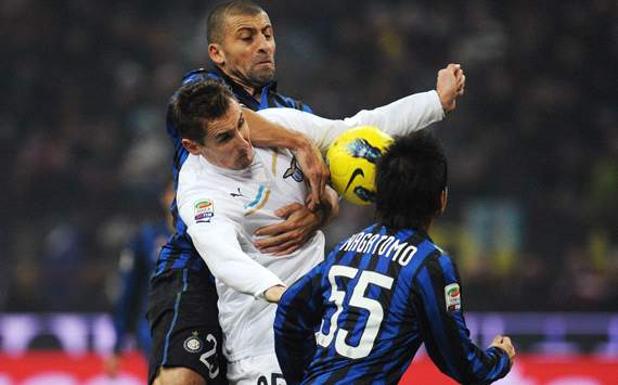 Samuel &amp; Klose - Inter-Lazio - Serie A (Getty Images)