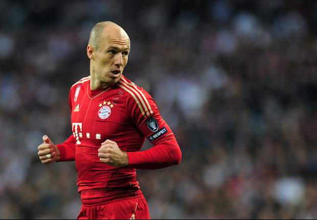 Arjen Robben vows to be fit for Champions League final