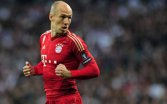 ALL, Bayern - Robben: &quot;Terminer ma carrire ici&quot;