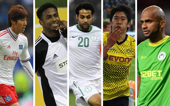 Ali Al Habsi, Shinji Kagawa, Yasser Al Qahtani & Son Heung-Min - Who should be the Asian player of the month for April?