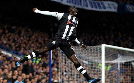 EPL: Papiss Cisse, Chelsea v Newcastle United
