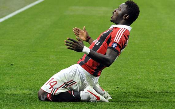 Muntari desperate for Milan comeback