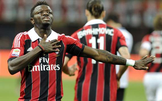 Ghana's Sulley Muntari: I want AC Milan
