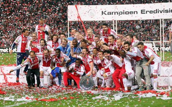 Ajax wins title 2011/2012
