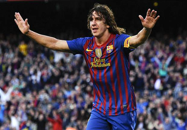 Puyol resumes Barcelona training after two months out