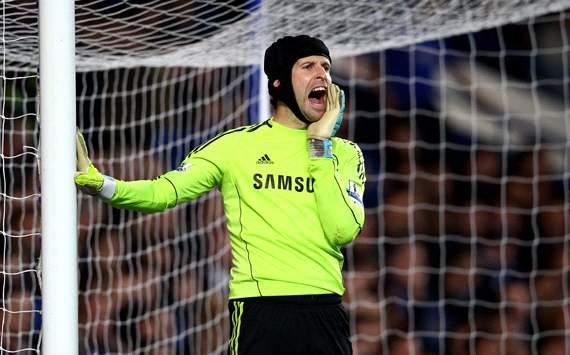 EPL:Petr Cech, Chelsea v Newcastle United