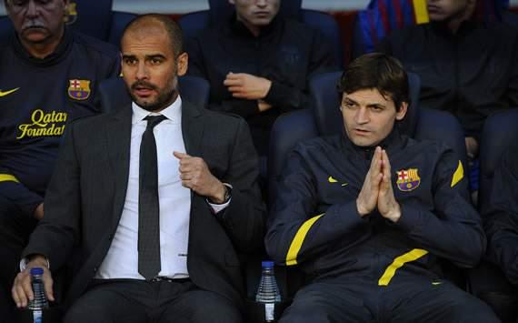 Pep Guardiola, Tito Vilanova - FC Barcelona