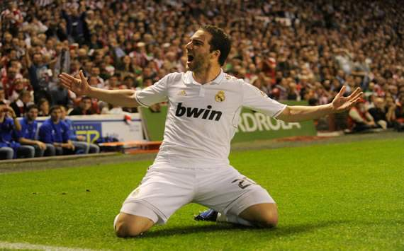 We don't want Higuain to leave Real Madrid, admits Karanka