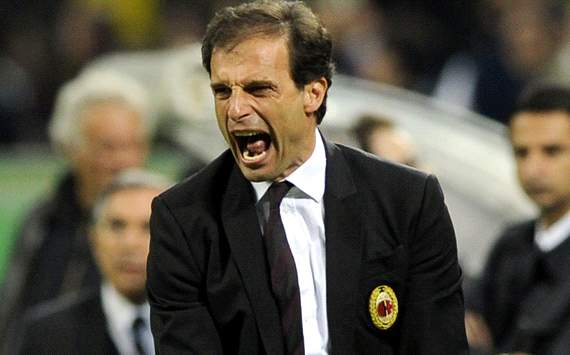 Massimiliano Allegri pide un creador para su nuevo Milan