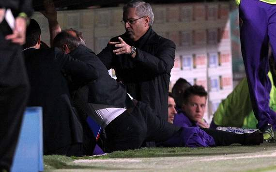 Fiorentina fire coach Delio Rossi after his attack on Adem Ljajic