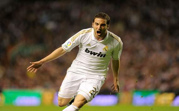 Higuain not leaving Real Madrid, says agent