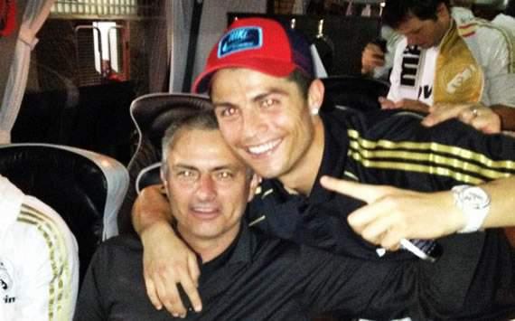 Cristiano Ronaldo, José Mourinho - Real Madrid