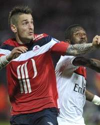 Ligue 1 : Mathieu Debuchy vs Siaka Tiene (Lille OSC vs Paris SG)