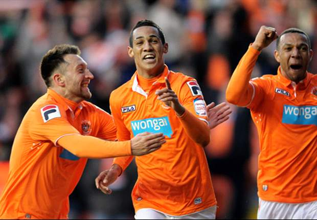 Blackpool 1-0 Birmingham: Deflected Tom Ince strike sees hosts take play-off first-leg advantage to St Andrew's