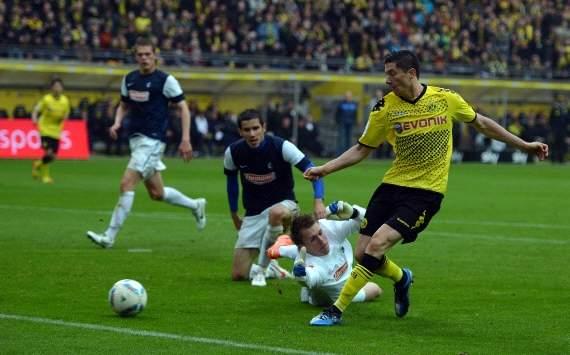 Germany, Bundesliga, Borussia Dortmund vs SC Freiburg, Robert Lewandowski