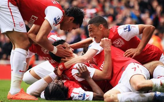 EPL-Arsenal v Norwich City, Robin van Persie