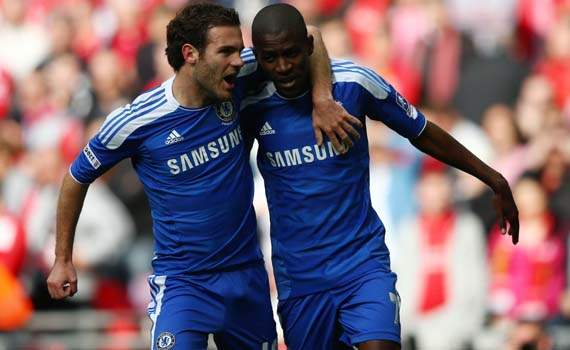 FA Cup Final, Liverpool v Chelsea, Ramires; Juan Mata