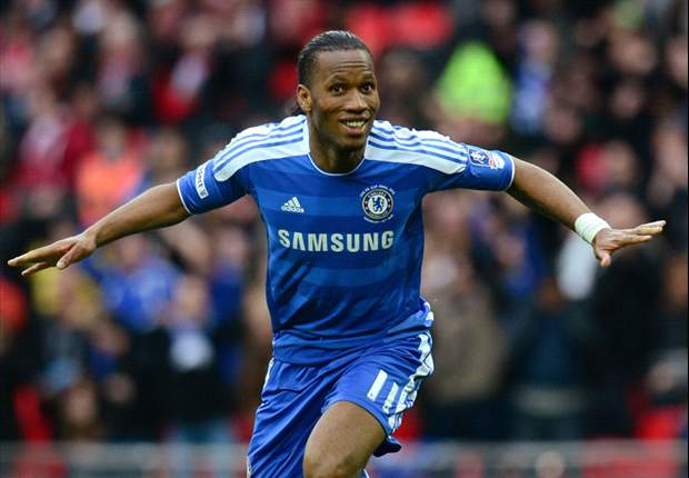 Wembley wonder: Drogba the man for the big occasion again as he fires Chelsea to FA Cup glory for a fourth time