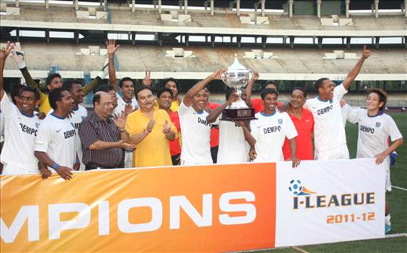 Dempo I-league champions 2011-12