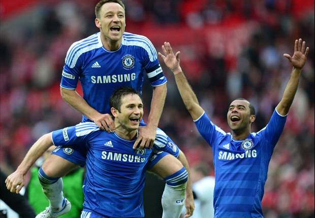 'Please just give Drogba the VIP suite' - football world reacts as Chelsea beat Liverpool in FA Cup final