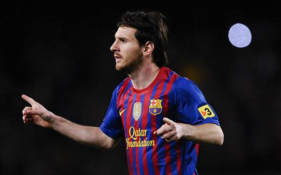 Goal.com World Player Of The Week: Lionel Messi vom FC Barcelona