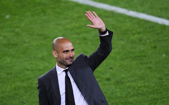Pep Guardiola - Despedida del FC Barcelona