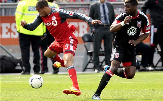 Ryan Johnson, Brandon McDonald - Toronto FC vs. DC United
