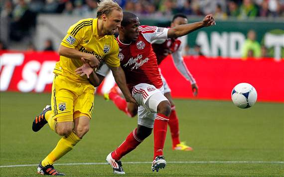 Darlington Nagbe, Portland Timbers; Eric Gehrig, Columbus Crew; MLS
