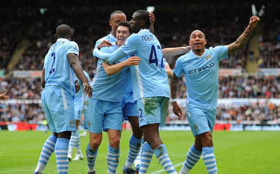 EPL: Yaya Toure, Newcastle United v Manchester City