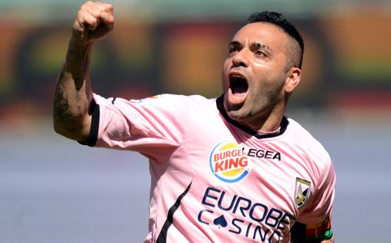Al Nasr keen to replace Toni with Palermo's Miccoli - report
